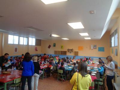Convivencia Colegio Aragón (Alagón) y Colegio Domingo Jiménez (Calatorao).